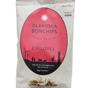 Öländska bönchips – Chilidill